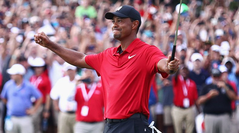 tiger woods wins tour championship for 80th victory on pga