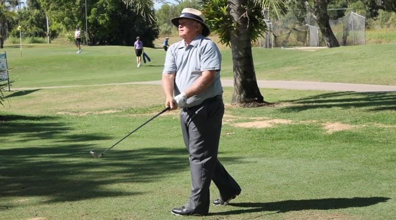 Senior nabs share of Sunshine Coast Masters lead