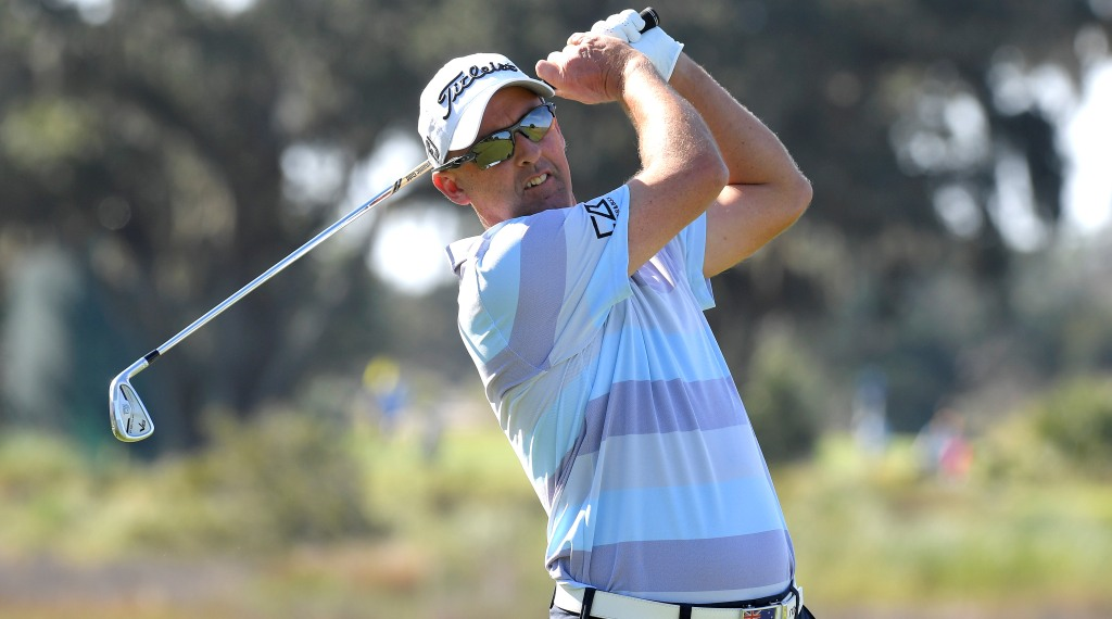 Aussies Abroad: Percy in attack mode at Rocket Mortgage Classic