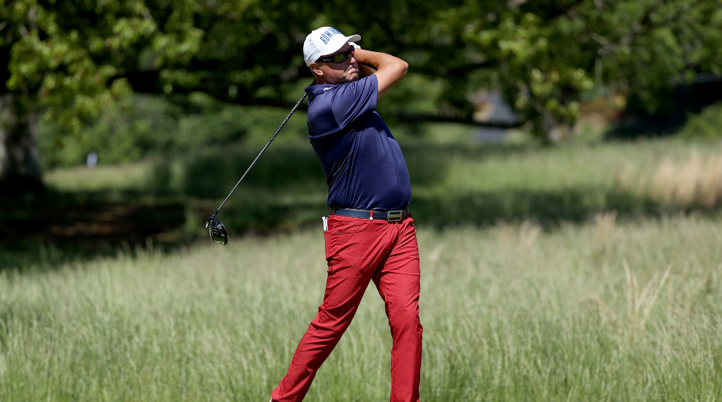 Allenby fires at old stomping ground in Senior Open Championship debut