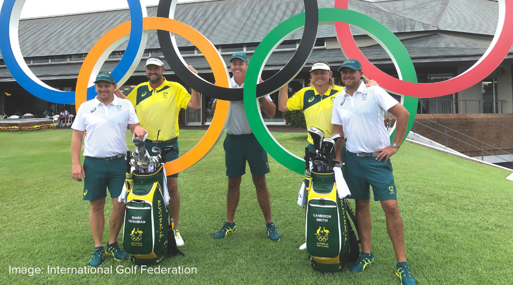 Why Olympic golf hits Team Australia 'a bit different'