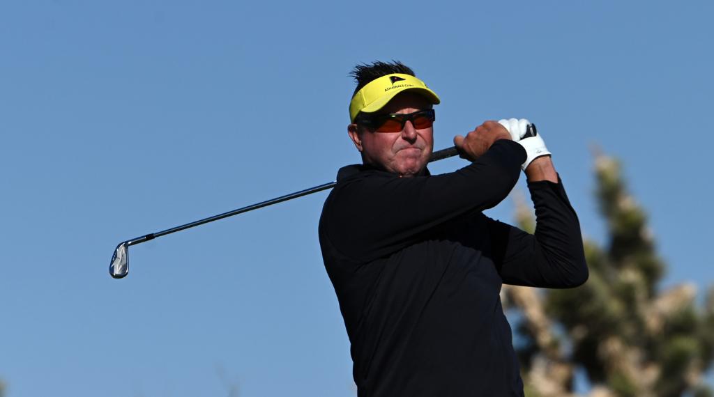 Allenby rekindles golden era as he makes Senior Open debut
