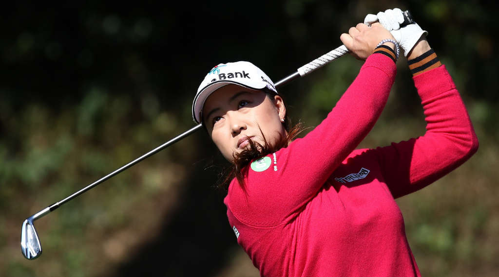 Late flurry keeps Lee in contention at BMW Ladies Championship